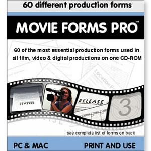 Movie Forms Pro CD-ROM (Retail) - STUDENTFILMMAKERS.COM STORE