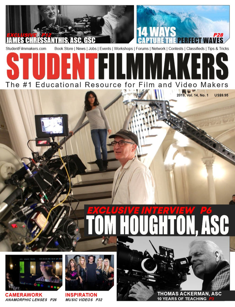 Student Filmmakers Magazine 2-Year Print Subscription - STUDENTFILMMAKERS.COM STORE