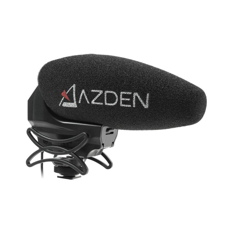 Azden SMX-30 Stereo/Mono Switchable Video Microphone - STUDENTFILMMAKERS.COM STORE