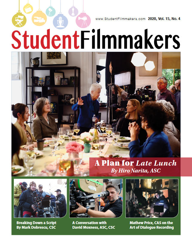 Student Filmmakers Magazine 1-Year Print ( Poly Bag ) Subscription