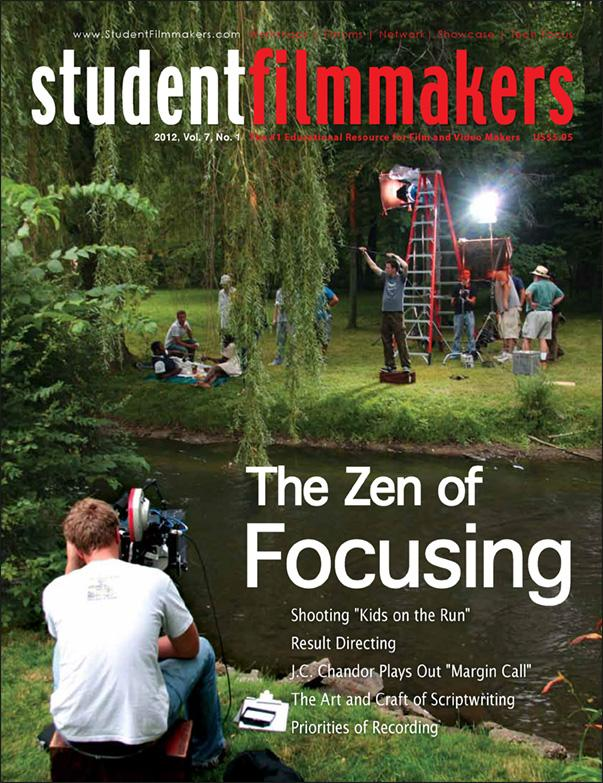 Back Issue | Digital Edition: StudentFilmmakers Magazine, 2012, Vol. 7, No. 1 - STUDENTFILMMAKERS.COM STORE