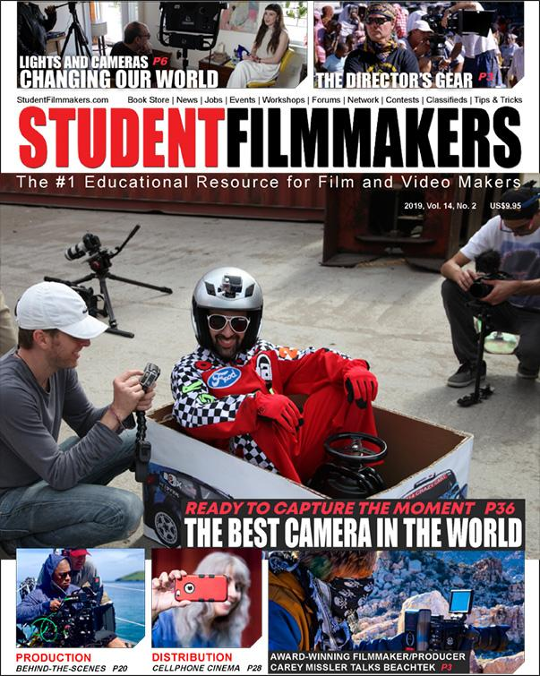Back Issue | Digital Edition: StudentFilmmakers Magazine, 2019, Vol. 14, No. 2 - STUDENTFILMMAKERS.COM STORE
