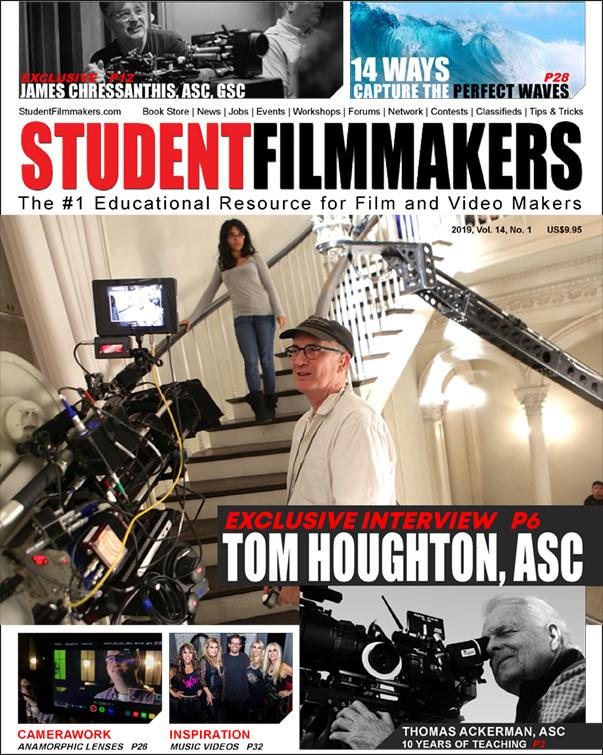 Back Issue | Digital Edition: StudentFilmmakers Magazine, 2019, Vol. 14, No. 1 - STUDENTFILMMAKERS.COM STORE