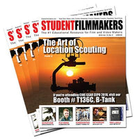 Bulk Print Subscription: StudentFilmmakers Magazine, 50 Copies Per Issue / 6 Issues Per Year