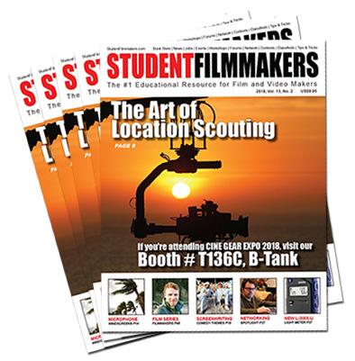 Bulk Print Subscription: StudentFilmmakers Magazine, 50 Copies Per Issue / 6 Issues Per Year - STUDENTFILMMAKERS.COM STORE