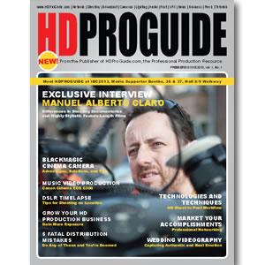 Back Issue | Digital Edition: HD Pro Guide Magazine, 2013, Vol. 1, No. 1 - STUDENTFILMMAKERS.COM STORE