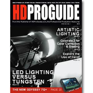 Back Issue | Digital Edition: HD Pro Guide Magazine, 2015, Vol. 3, No. 1 - STUDENTFILMMAKERS.COM STORE