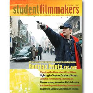 Back Issue | Digital Edition: StudentFilmmakers Magazine, October 2007