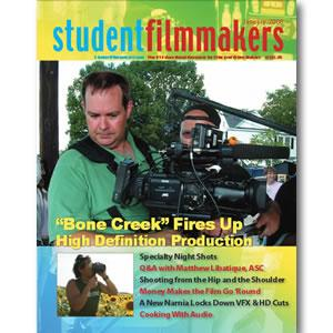 Back Issue | Digital Edition: StudentFilmmakers Magazine, January 2008 - STUDENTFILMMAKERS.COM STORE