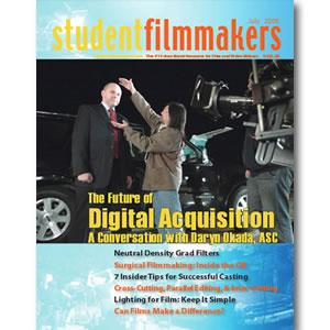 Back Issue | Digital Edition: StudentFilmmakers Magazine, July 2008