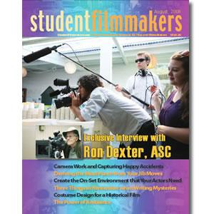 Back Issue | Digital Edition: StudentFilmmakers Magazine, August 2008