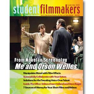 Back Issue | Digital Edition: StudentFilmmakers Magazine, September 2008