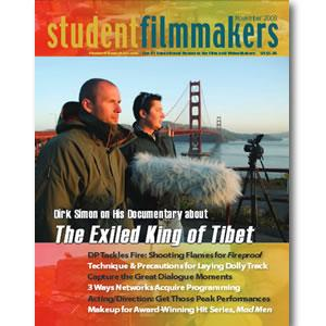 Back Issue | Digital Edition: StudentFilmmakers Magazine, November 2008