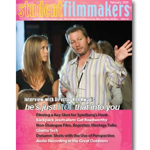 Back Issue | Digital Edition: StudentFilmmakers Magazine, February 2009 - STUDENTFILMMAKERS.COM STORE