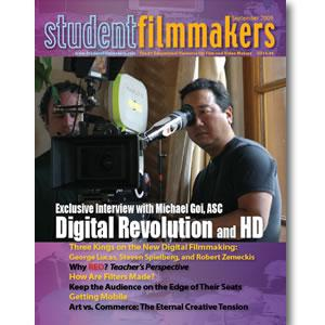 Back Issue | Digital Edition: StudentFilmmakers Magazine, September 2009
