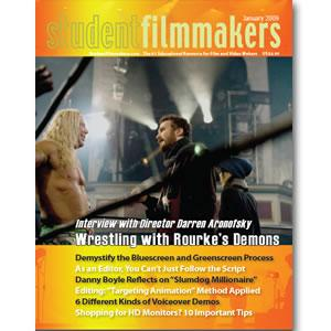 Back Issue | Digital Edition: StudentFilmmakers Magazine, January 2009 - STUDENTFILMMAKERS.COM STORE