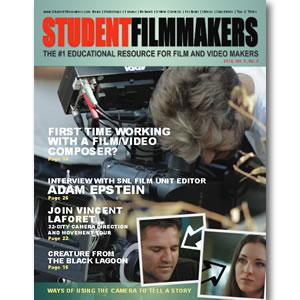 Back Issue | Digital Edition: StudentFilmmakers Magazine, 2014, Vol. 9, No. 2 - STUDENTFILMMAKERS.COM STORE