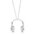*DJ Headphone Necklace (Signature White)