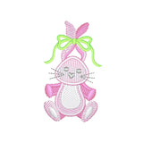 EM-L1046 Bunny Embroidery