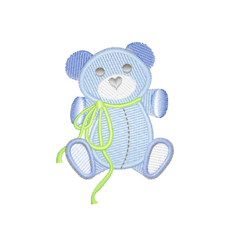EM-L1067 Baby Bear Embroidery