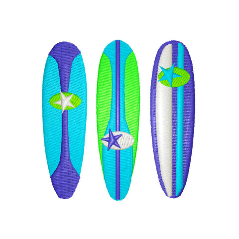 EM-P9003 Surfboards Embroidery