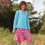 PA-F1040  Grace Skirt Pattern with 2 Ruffle Variations
