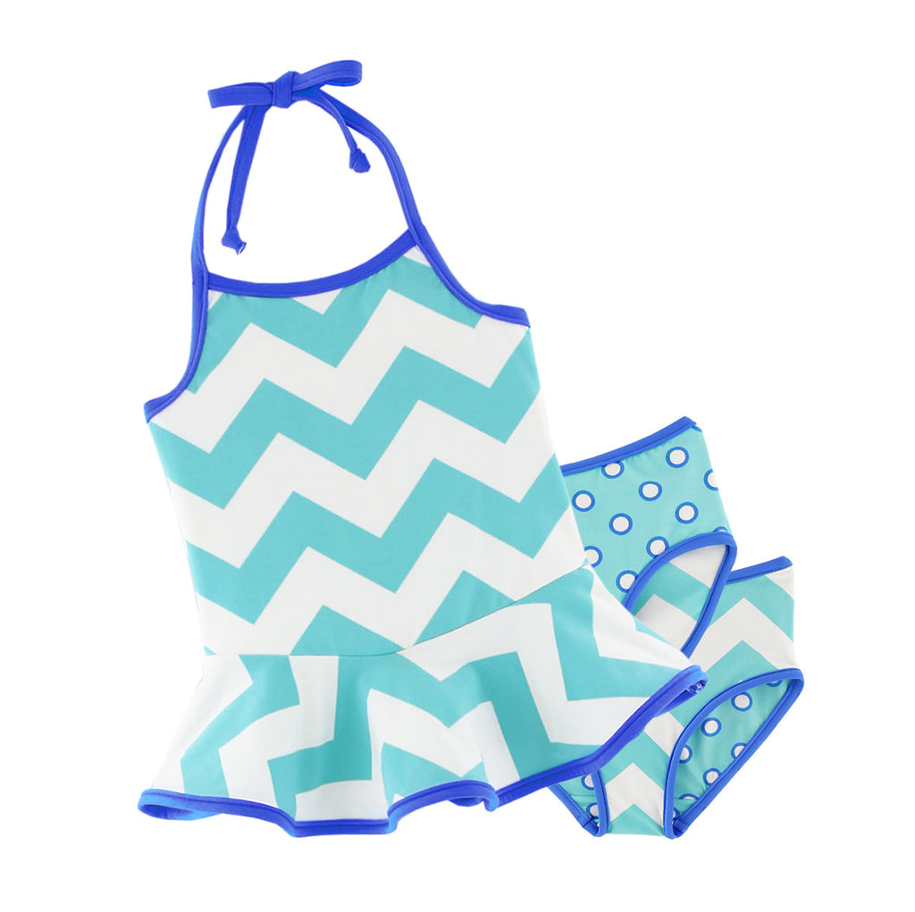 PA-S1362 Ellie Swim Ruffle Top Set Pattern