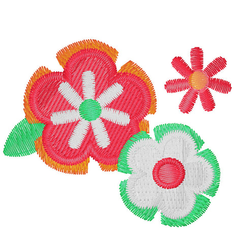 EM-E0098 Bay Flowers Embroidery
