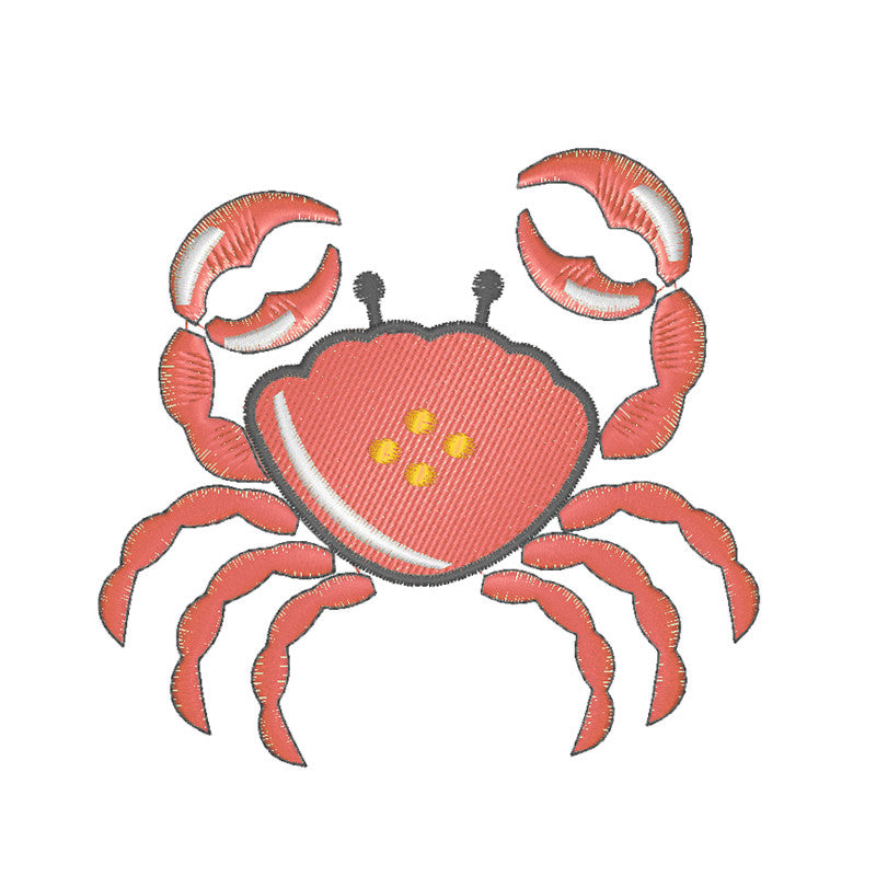 EM-E0264 Big Crab Embroidery