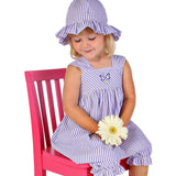 PA-S1079 Layla Six-Panel Hat w/Ruffles Pattern