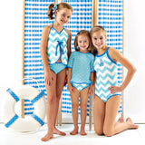 aPA-S1361 Harper Swim Rash Guard Pattern