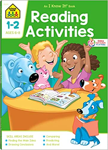 School Zone - Reading Activities Workbook
