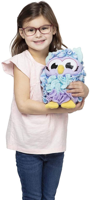 Melissa & Doug Created by Me Owl Accent Pillow Lacing Craft Kit