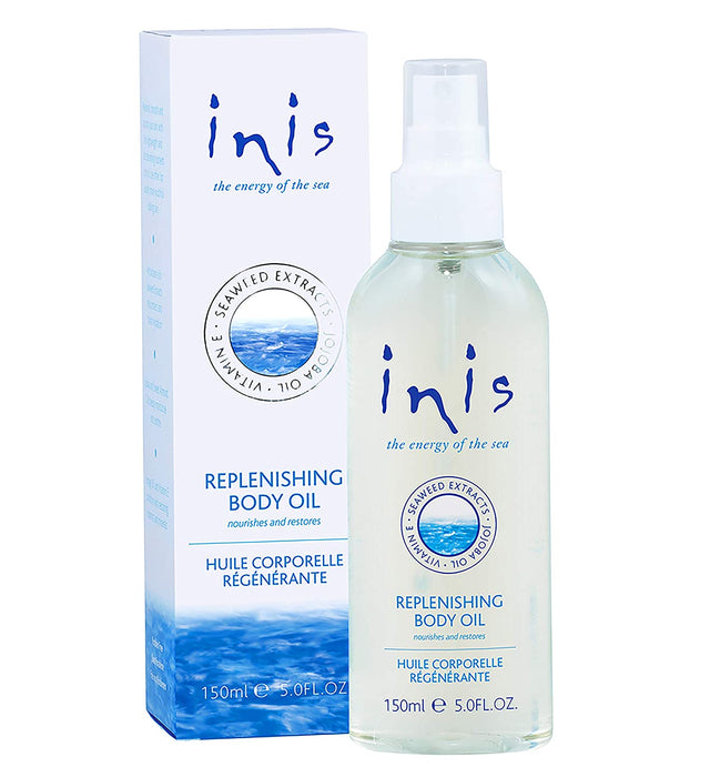 Inis the Energy of the Sea Replenishing Body Oil, 5 Fluid Ounce