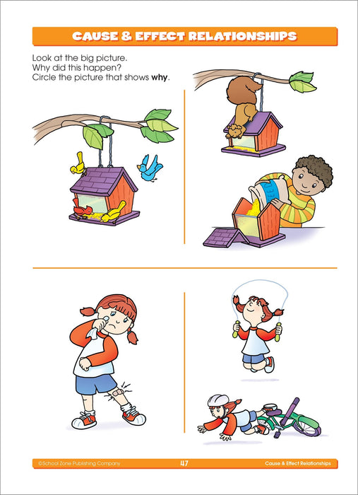 School Zone - Kindergarten Basics Workbook