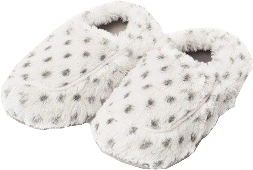 Fully Microwavable Luxury Cozy Slippers Snowy
