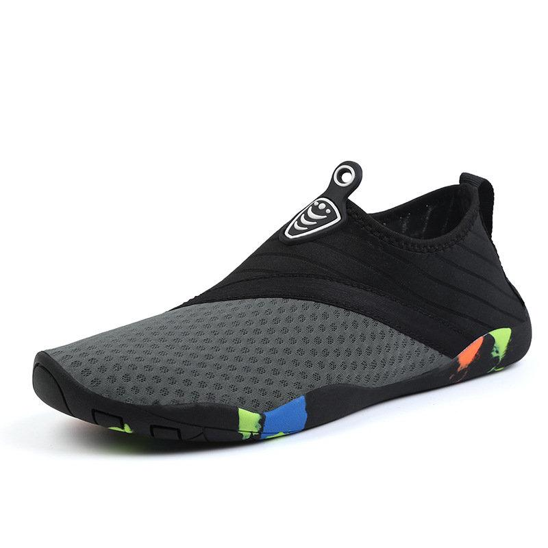 Men's Mesh Water Boating Upstream Slip Resistant Soft Diving Shoes