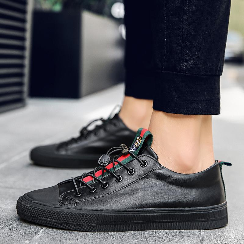 Miuro Leather Sneakers – OUTLET26