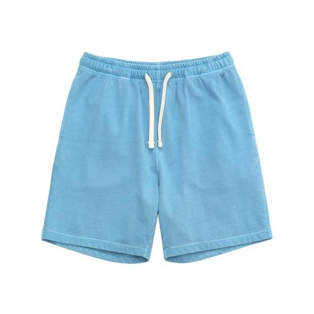 2020 summer new sweatpants drawstring shorts