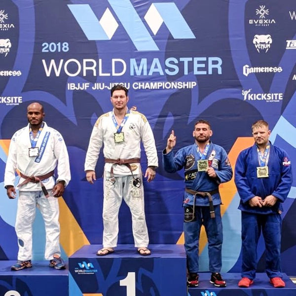 Chris Jones Strikes Gold at the World Master!