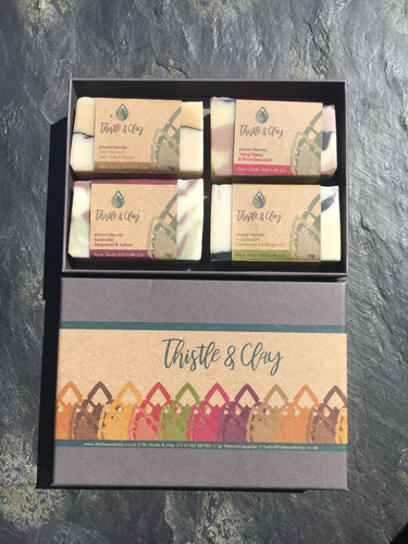 Artisan Soap - Four Soaps Gift Box