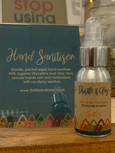 Hand Sanitiser (Alcohol no-rinse cleanser)