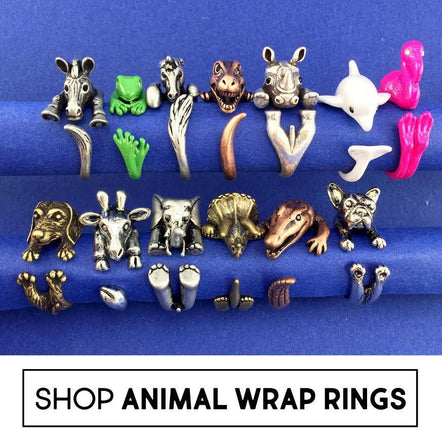 Animal Wrap Rings