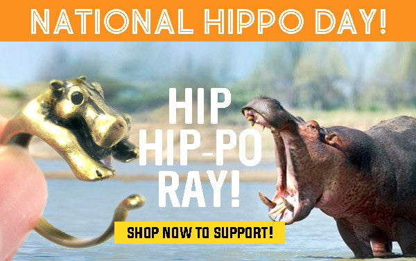 National Hippo Day x DOTOLY