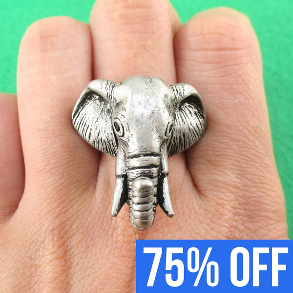 adjustable-elephant-animal-ring-for-men-and-women-in-silver