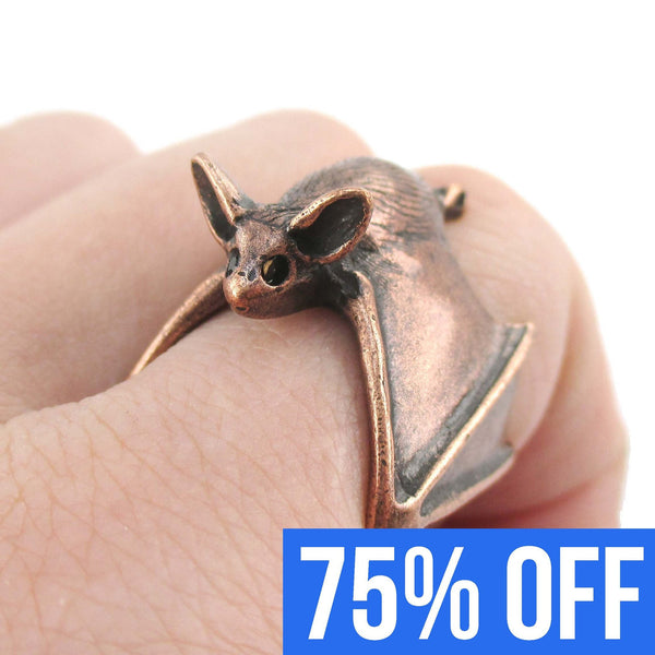 3d-adjustable-bat-shaped-unisex-animal-ring-in-copper