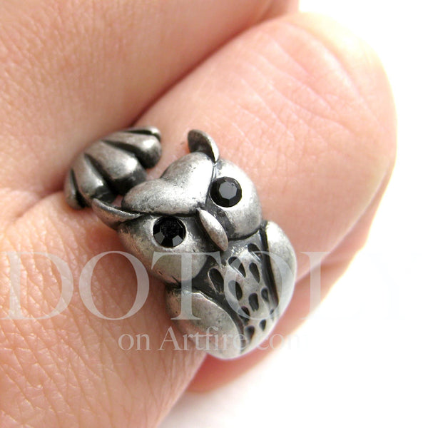 owl-bird-animal-wrap-ring-in-silver