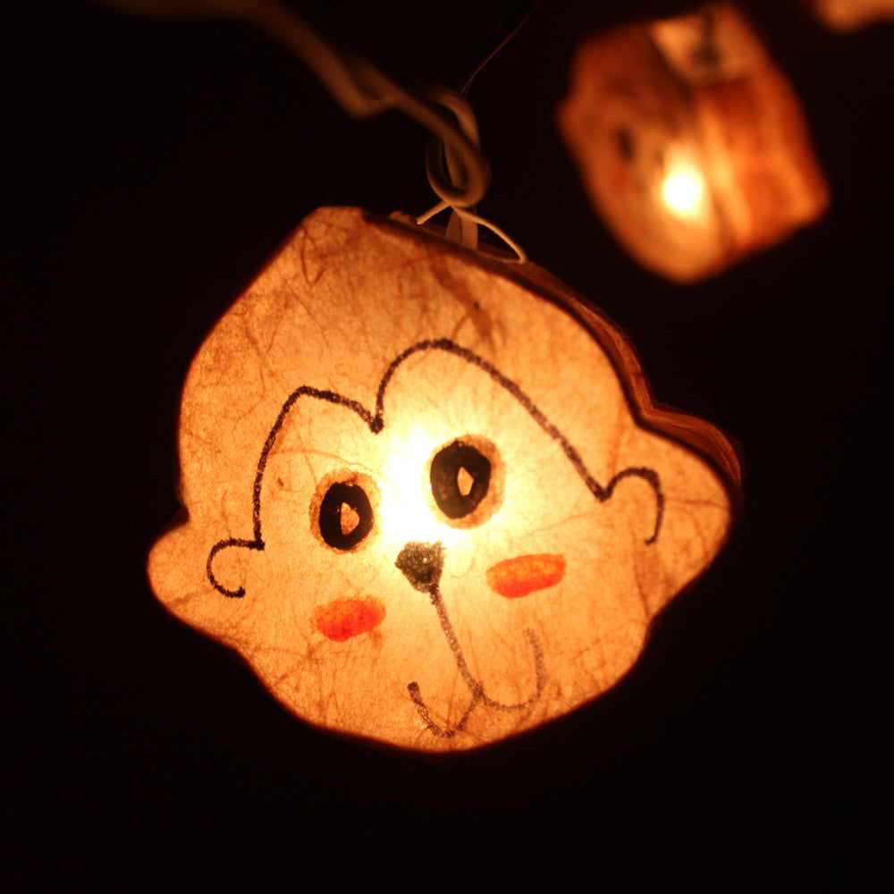 monkey-animal-shaped-handmade-mulberry-paper-string-light