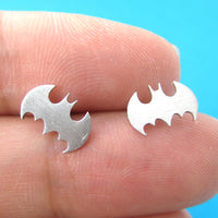 bat-silhouette-symbol-batman-logo-stud-earrings-in-silver-allergy-free