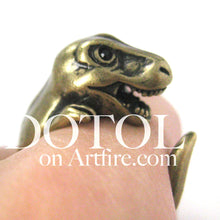 dinosaur-t-rex-prehistoric-animal-wrap-ring